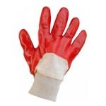 Купить перчатки ПВХ вязанный манжет не полное покрытие