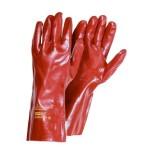 Купить перчатки ПВХ вязанный манжет полное покрытие манжет 35 см.