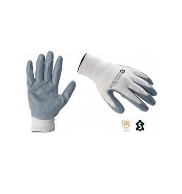 Перчатки трикотажные нейлоновые с МБС покрытием