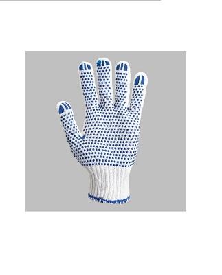 Перчатки х/б вязанные с ПВХ точкой «Ультра Стронг»