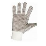 Купить перчатки х/б шитые с ПВХ точкой
