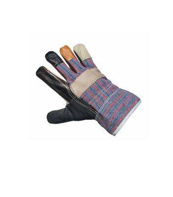 Перчатки комбинированные (кожа + х/б) «Стандарт»