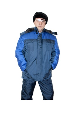 Куртка утепленная «Артика» (синий+василек)