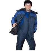 Купить куртка утепленная «Артика» (синий+василек)