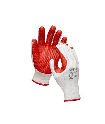 Перчатки трикотажные с нитрильным каучковым напылением «Вулкан»