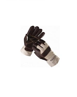 Перчатки кожа + х/б «Зима»