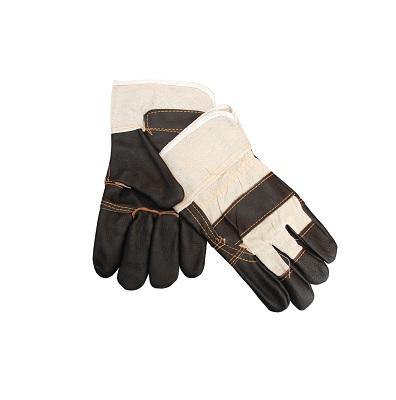 Перчатки комбинированные (кожа + х/б) «Экстра»