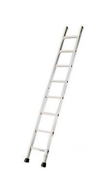 Лестница односекционная алюминиевая бытовая TUBESCA Starline