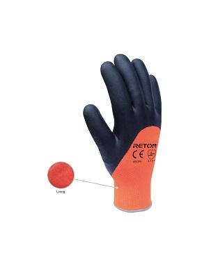 Перчатки утепленные с нитрильным покрытием
