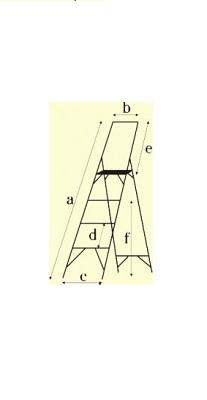Стремянки с симметричной опорой