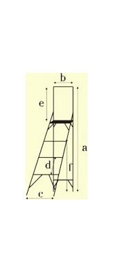 Стремянки с вертикальной опорой