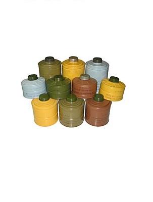 Фильтрующе-поглощающие коробки малого, среднего и большого габаритов.