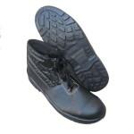 Купить ботинки кожаные ПУП с металлическим подноском