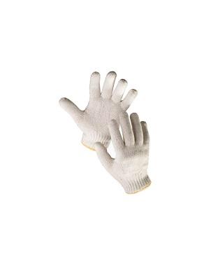 Перчатки х/б вязанные (отбеленные)