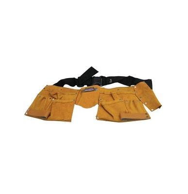Пояс для инструмента, 10 отделений, кожаный Berg