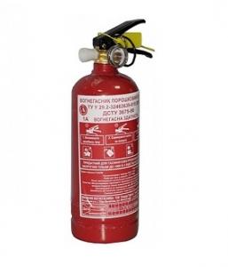 Огнетушитель порошковый ОП-1 (ВП-1)