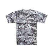 Купить футболка трикотажная камуфлированная «Город»